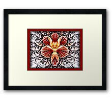 QUEEN FIREFLY Framed Print