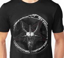 Baphomet Head Illuminati God  Unisex T-Shirt