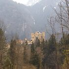 Hohenschwangau Castle in Germany by CadburyKeepsake