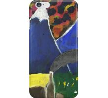 Hut by the hills by John Wiseman iPhone Case/Skin