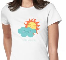 Siempre sale el sol Womens Fitted T-Shirt
