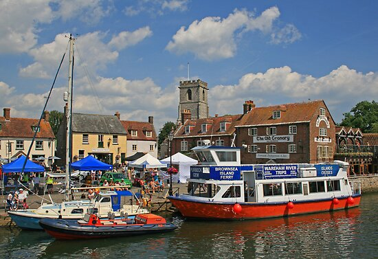 Carnival Day on Wareham Quay by RedHillDigital