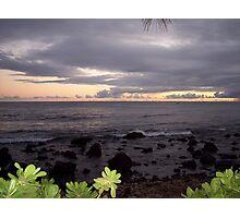 Hawaiian Sunset Photographic Print