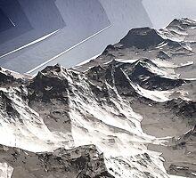Arctic Mountain Peaks by Phil Perkins
