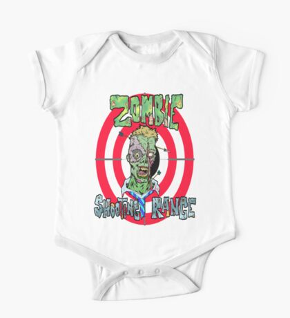 Zombie Shooting Range One Piece - Short Sleeve