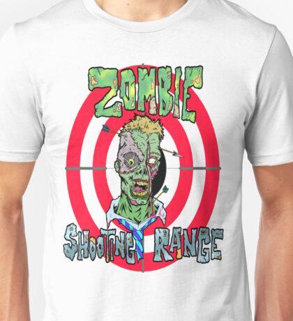 Zombie Shooting Range Unisex T-Shirt