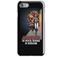 Coffee - The Official Beverage of Revolution iPhone Case/Skin