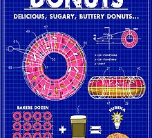 Donuts Blueprint by GUS3141592