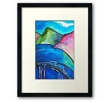 Heart Bridge Framed Print