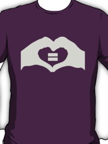 Australian Marriage Equality Logo (Grey) - T-Shirts, Hoodies & Kids T-Shirt