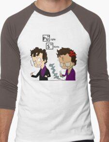 Purple Shirts Men's Baseball ¾ T-Shirt