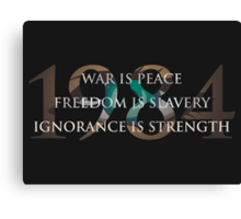 Nineteen Eighty-Four [1984] Canvas Print