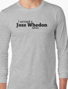 I Survived a Joss Whedon Series Long Sleeve T-Shirt