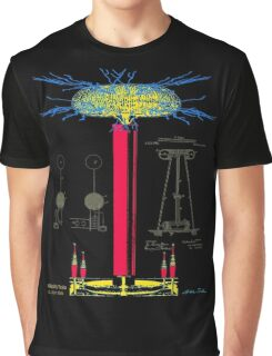 Tesla Coil Graphic T-Shirt