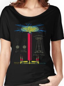 Tesla Coil Women's Relaxed Fit T-Shirt