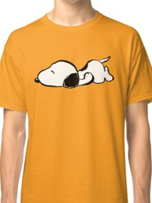 Snoopy sleeping Classic T-Shirt