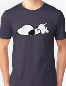 Snoopy sleeping Unisex T-Shirt