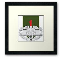 1st Infantry CFMB Framed Print