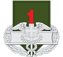1st Infantry CFMB Photographic Print
