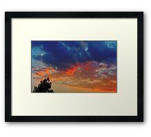 ©HCS Cloudscape Tree April Framed Print