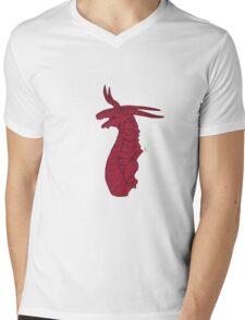 Noble Dragon Mens V-Neck T-Shirt