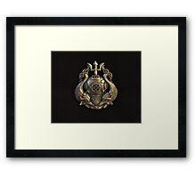 Master Diver Framed Print