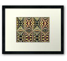 SUMERIAN SWEARING Framed Print