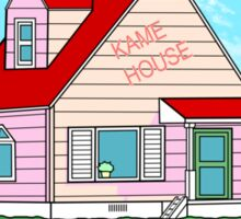 Kame House Sticker