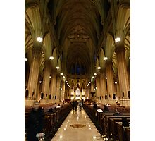 NYC Cathedral Photographic Print