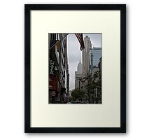 NYC Empire State Building Framed Print