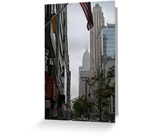 NYC Empire State Building Greeting Card