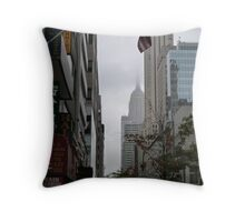 NYC Empire State Building Throw Pillow