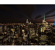 NYC Skyline at Twilight Photographic Print
