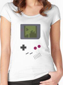 Nintendo Game Boy - Tetris Women's Fitted Scoop T-Shirt