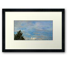 ©HCS Cloudscape Tree July I Framed Print