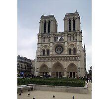 Notre Dame, Paris, France Photographic Print