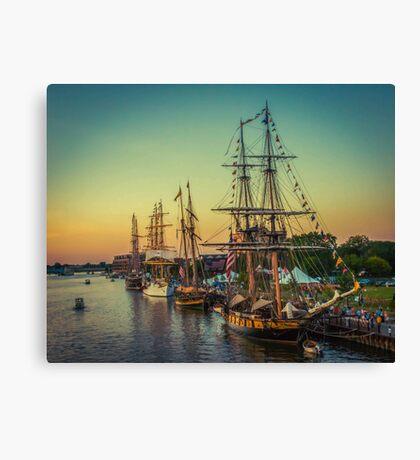 Tall Ship Celebration Canvas Print