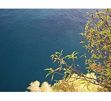 The Sea in the French Riviera Photographic Print