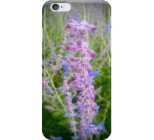 Purple And Blue Wildflowers iPhone Case/Skin