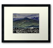 ©HCS The Hill Paintography Framed Print