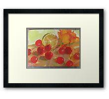 Cherry Class Framed Print