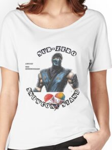 subzero snow cone stand Women's Relaxed Fit T-Shirt