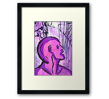 Thought Process Framed Print