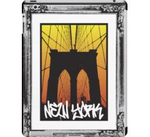 New York at Sunset iPad Case/Skin
