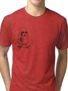 Leonado Skateboard Sml K Tri-blend T-Shirt