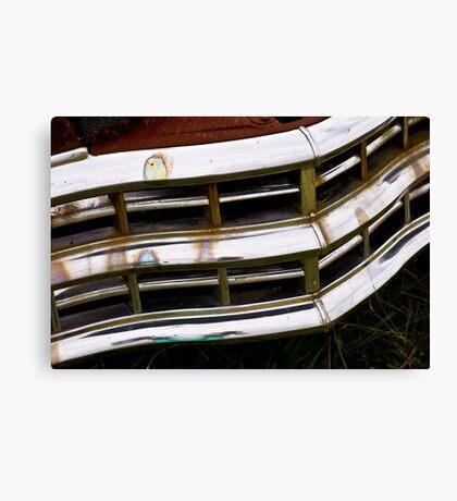 Chrysler Grill Canvas Print