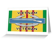 Vietnam CIB Greeting Card