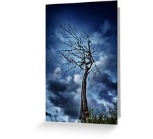 Spooky Tree Greeting Card