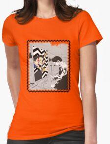 Twin Peaks Broken Mirror Womens Fitted T-Shirt