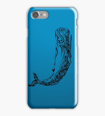 Tribal ~ Sperm Whale iPhone Case/Skin